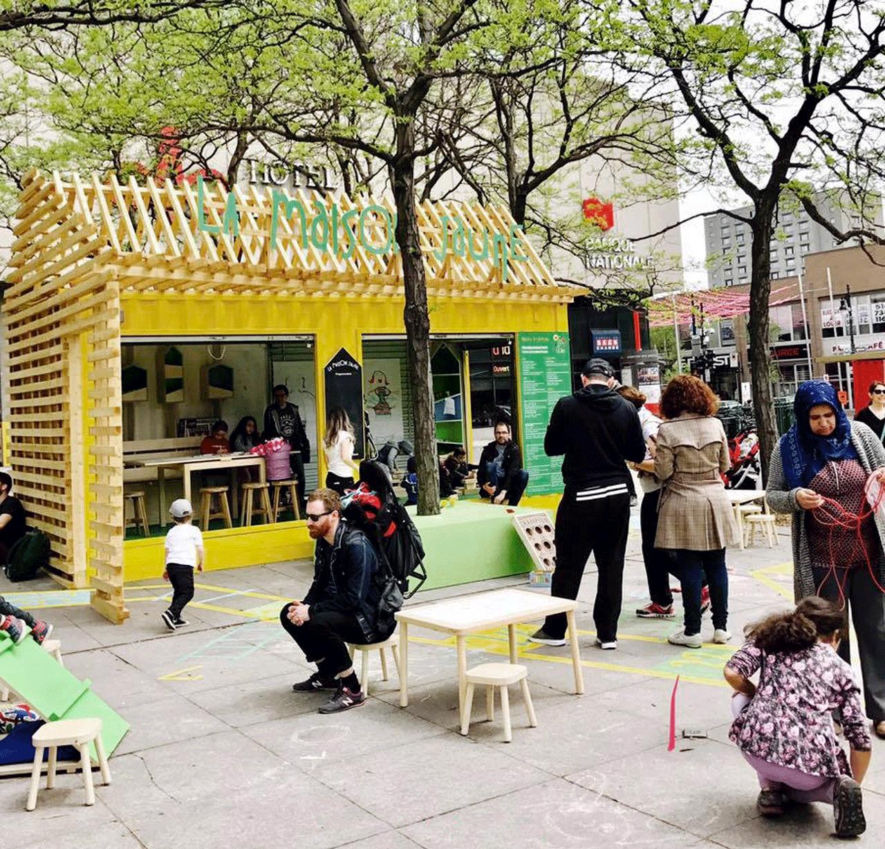 jardin gamelin montréal
